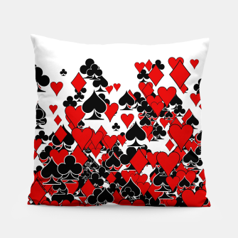 Thumbnail image of Poker Star Pillow, Live Heroes