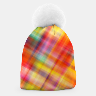 Thumbnail image of Colorful Design Beanie, Live Heroes