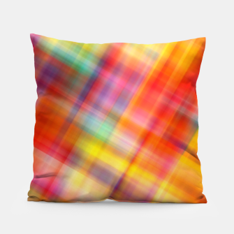 Thumbnail image of Colorful Design Pillow, Live Heroes