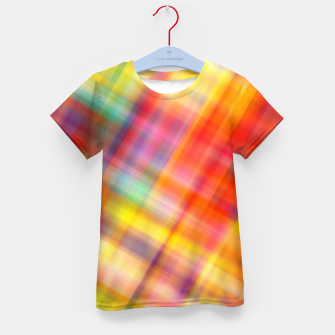 Thumbnail image of Colorful Design Kid's T-shirt, Live Heroes