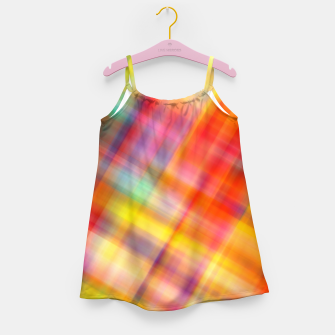 Thumbnail image of Colorful Design Girl's Dress, Live Heroes