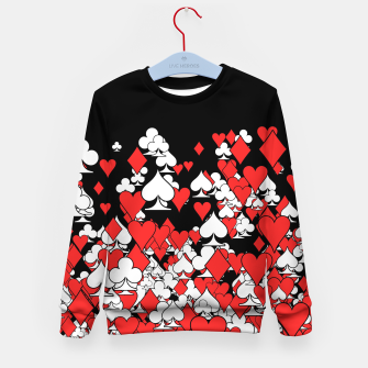 Thumbnail image of Poker Star II Kid's Sweater, Live Heroes