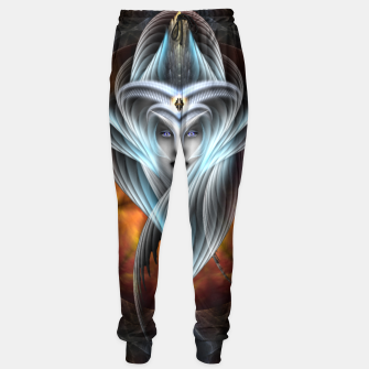 What Dreams Are Made Of Arcania Vision Fractal Art Sweatpants thumbnail image