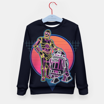 Thumbnail image of starwars kid robot droid sweater, Live Heroes