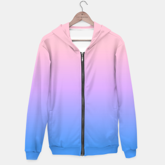 Thumbnail image of bright gradient Hoodie, Live Heroes