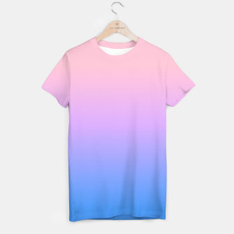 Thumbnail image of bright gradient T-shirt, Live Heroes