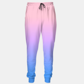 Thumbnail image of bright gradient Sweatpants, Live Heroes