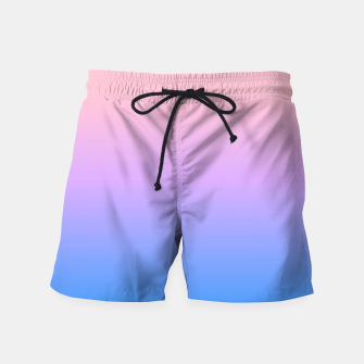 Thumbnail image of bright gradient Swim Shorts, Live Heroes