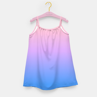 Thumbnail image of bright gradient Girl's Dress, Live Heroes
