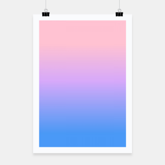 Thumbnail image of bright gradient Poster, Live Heroes