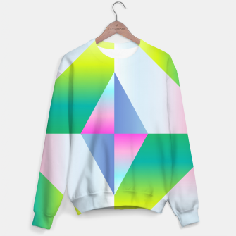 Thumbnail image of colorful vibration Sweater, Live Heroes