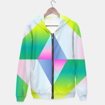 Thumbnail image of colorful vibration Hoodie, Live Heroes