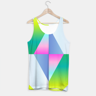 Thumbnail image of colorful vibration Tank Top, Live Heroes