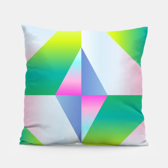 Thumbnail image of colorful vibration Pillow, Live Heroes