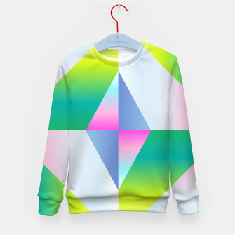 Thumbnail image of colorful vibration Kid's Sweater, Live Heroes
