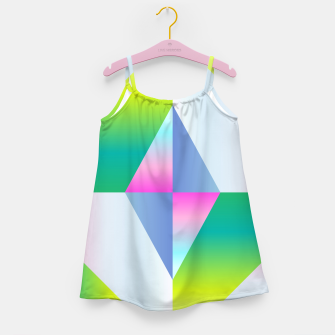 Thumbnail image of colorful vibration Girl's Dress, Live Heroes