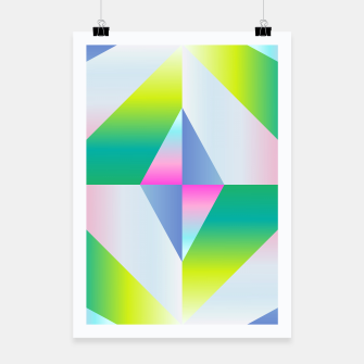 Thumbnail image of colorful vibration Poster, Live Heroes