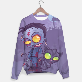 Thumbnail image of Pet Cemetery Sweater, Live Heroes
