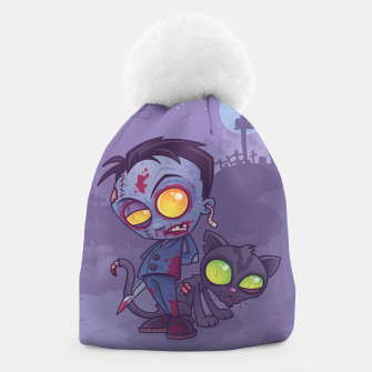 Thumbnail image of Pet Cemetery Beanie, Live Heroes