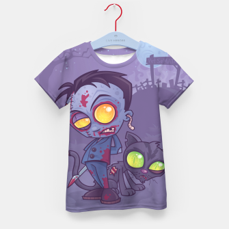 Thumbnail image of Pet Cemetery Kid's T-shirt, Live Heroes