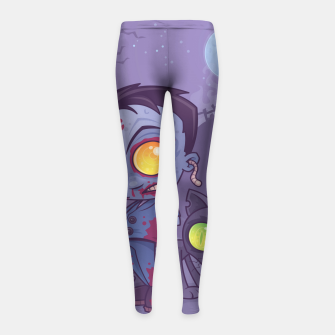 Thumbnail image of Pet Cemetery Girl's Leggings, Live Heroes