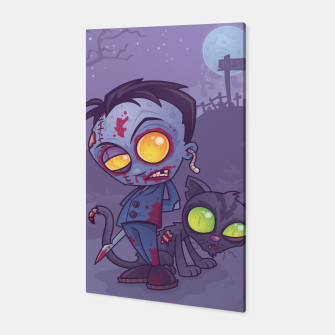 Thumbnail image of Pet Cemetery Canvas, Live Heroes