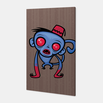 Thumbnail image of Zombie Monkey Canvas, Live Heroes