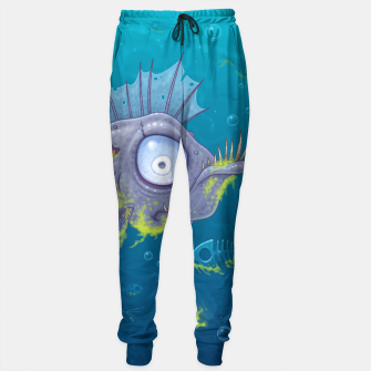 Thumbnail image of Zombie Fish Sweatpants, Live Heroes