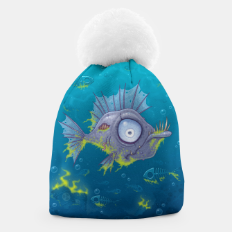 Thumbnail image of Zombie Fish Beanie, Live Heroes
