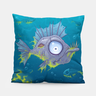 Thumbnail image of Zombie Fish Pillow, Live Heroes