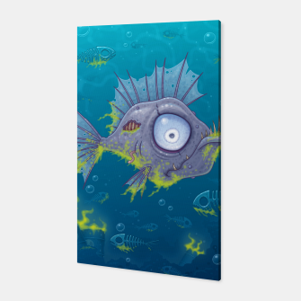Thumbnail image of Zombie Fish Canvas, Live Heroes