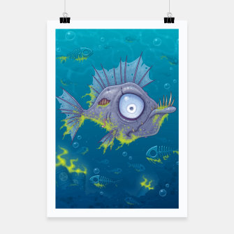 Thumbnail image of Zombie Fish Poster, Live Heroes