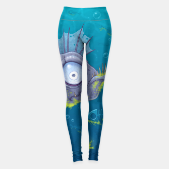Thumbnail image of Zombie Fish Leggings, Live Heroes