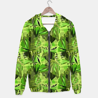 Thumbnail image of Tropical Jungle Greens Camouflage  Hoodie, Live Heroes