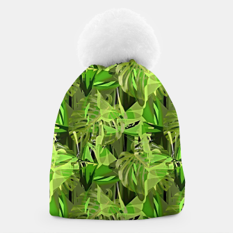 Thumbnail image of Tropical Jungle Greens Camouflage  Beanie, Live Heroes
