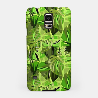 Thumbnail image of Tropical Jungle Greens Camouflage  Samsung Case, Live Heroes