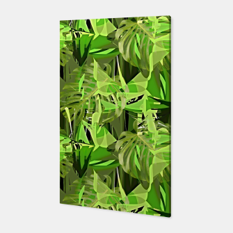 Thumbnail image of Tropical Jungle Greens Camouflage  Canvas, Live Heroes