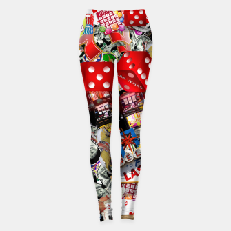Thumbnail image of Gamblers Delight - Las Vegas Icons Leggings, Live Heroes
