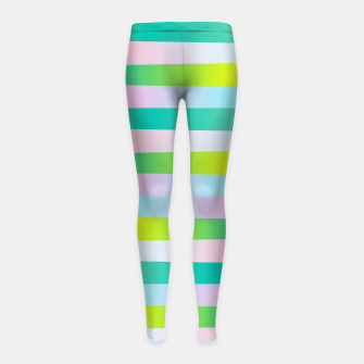 Thumbnail image of perception Girl's Leggings, Live Heroes