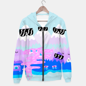 Thumbnail image of Cool Mountains Hoodie, Live Heroes