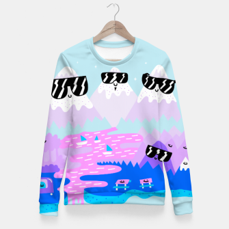 Miniaturka Cool Mountains Fitted Waist Sweater, Live Heroes