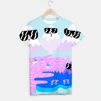 Thumbnail image of Cool Mountains T-shirt, Live Heroes