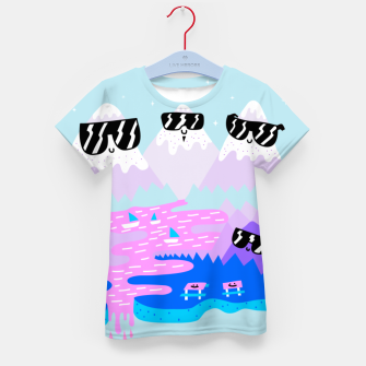 Thumbnail image of Cool Mountains Kid's T-shirt, Live Heroes