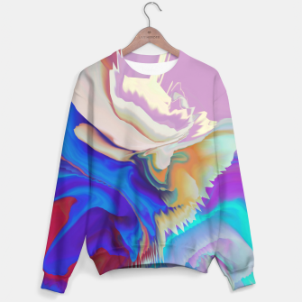 Miniaturka Abstract colorful flow of crystals Sudadera, Live Heroes