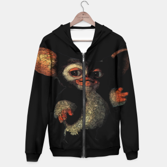 Miniatur 80s Gremlins Gizmo horror comedy cute painting hoodie, Live Heroes