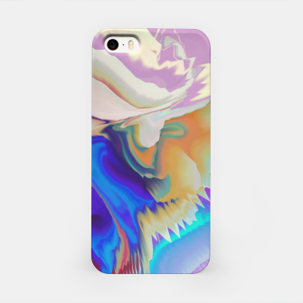 Miniaturka Abstract colorful flow of crystals Carcasa por Iphone, Live Heroes