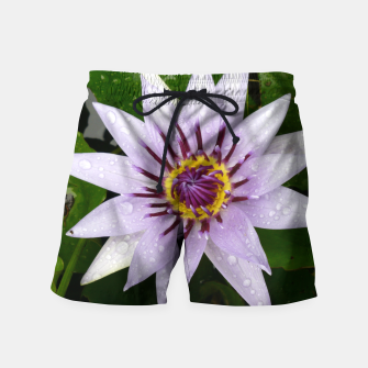 Thumbnail image of Lily flower Swim Shorts, Live Heroes