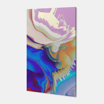 Miniaturka Abstract colorful flow of crystals Canvas, Live Heroes