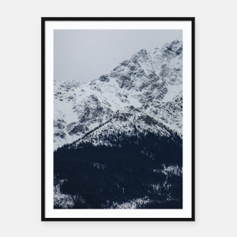 Thumbnail image of Pietrosu Mountain Framed poster, Live Heroes