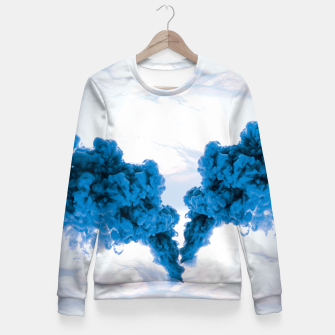Thumbnail image of Ink Drop Fitted Waist Sweater, Live Heroes